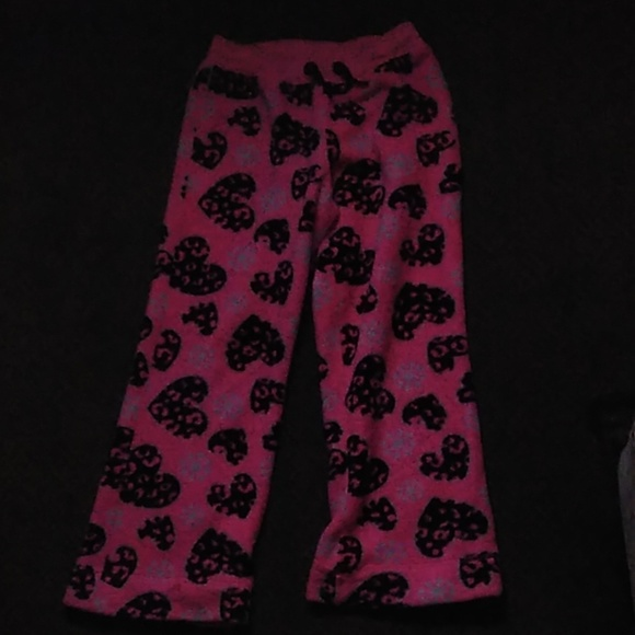 Justice Other - Pink pajama pants